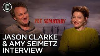 Download Pet Sematary Jason Clarke & Amy Seimetz Interview Video