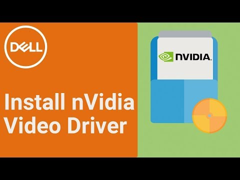 How to Install nVIDIA Driver (Official Dell Tech Support)
