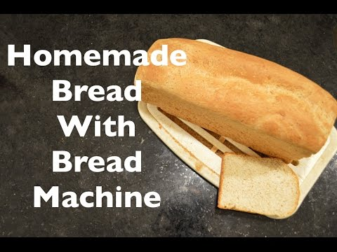 Homemade Whole Wheat Bread with a Bread Machine