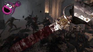 Warhammer Vermintide - Karak Azgaraz Witch Hunter Falchion Gameplay - Nightmare On Cursed Rune