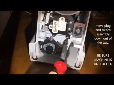 Janome HD1000 - Reverse Button Trouble Shooting