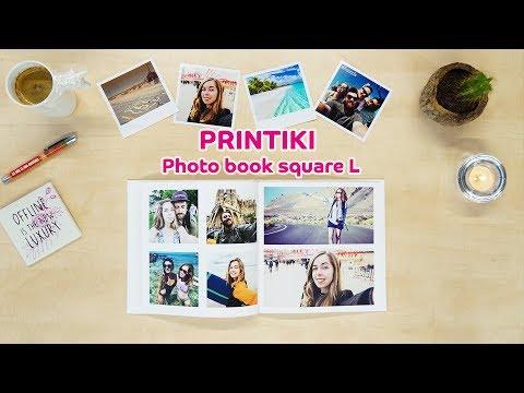 Creating a Travel Photo Book - Printiki Square L Photo Book