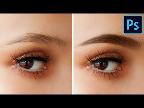 Fill in Eyebrows in Photoshop