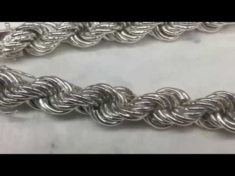 Jewellery How to make a rope chain by hand