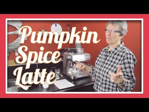 Pumpkin Spice Latte   Homemade With Real Pumpkin
