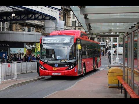 FULL ELECTRIC BUS!   BYD/ADL Enviro 200EV   507 to Waterloo   LJ66CGY (SEe30)