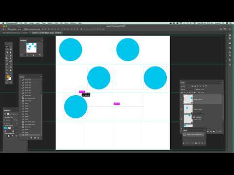 Polka dot brushes creation in photoshop tutorial