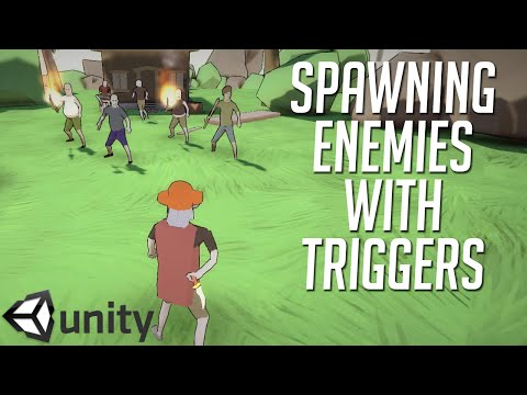 Unity 5 - How To Spawn Enemies with Triggers
