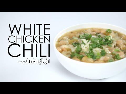 How to Make Fast White Chicken Chili | MyRecipes