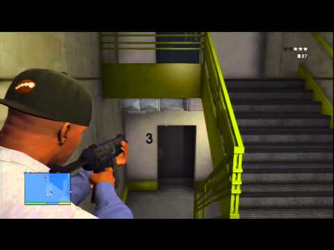 Police station Raid HD  GTA V