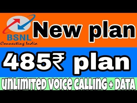BSNL 485 Plan offers unlimited voice calls and 1 GB data per day | Jio Effect |  BSNL |