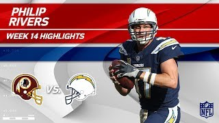 Philip Rivers Highlights | Redskins vs. Chargers | Wk 14 Player Highlights
