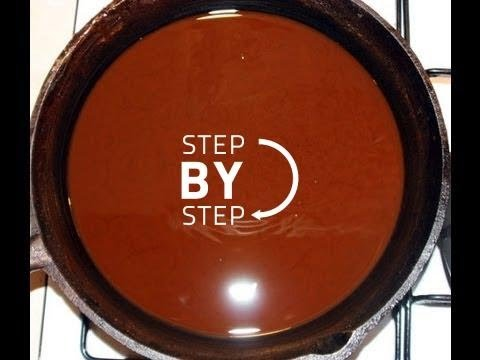 How to Make a Dark Roux - How to Make a Gumbo Roux - Gumbo Roux Recipe, Cajun Roux Recipe