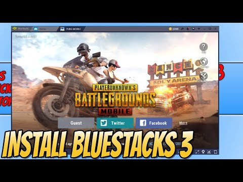 How To Install PUBG MOBILE 0.5.0 To BlueStacks 3   Play New Miramar Desert Map On PUBG Mobile