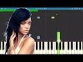 How to play Love On The Brain - Rihanna - Piano Tutorial