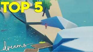 Top 5 Best Creations Of January | Dreams PS4