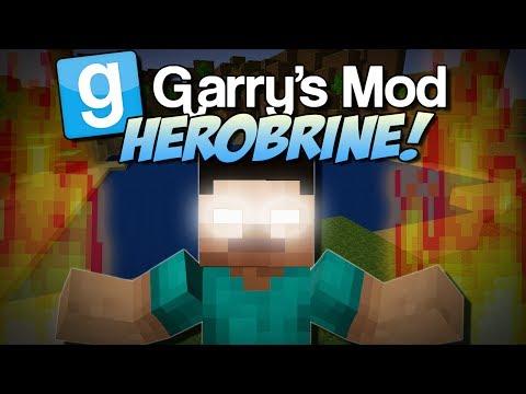 Garry's Mod | HEROBRINE MOD! (Summon Him and Suffer..) | Gmod