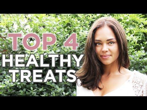 Top 4 QUICK + HEALTHY Treats | Danielle Hayley