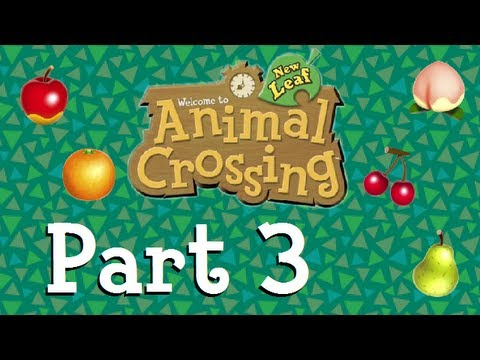 Animal Crossing: New Leaf - Building Up Bell-Air! (Part 3)