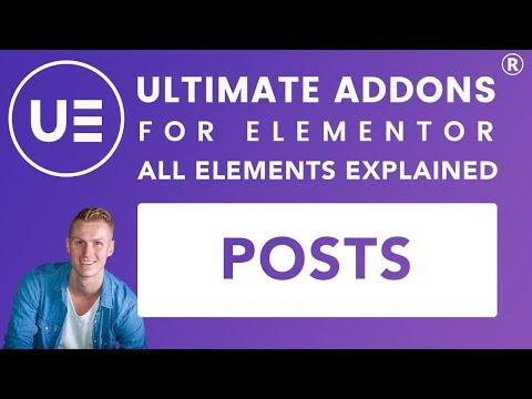 Ultimate Addons Elementor | Posts