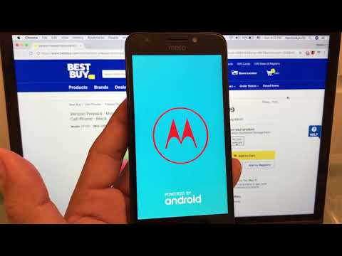 Unlock Moto E4 Verizon Prepaid May 2018