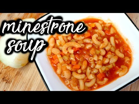 Minestrone Soup | Meatless meals!