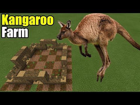 How to Make a Kangaroo Farm | Minecraft PE