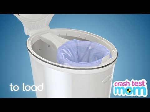 Ubbi Diaper Pail - Crash Test Mom Reviews