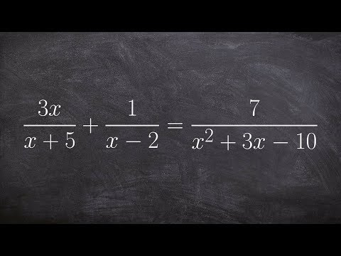 Learn how to solve a rational equation and identify the extraneous solutions