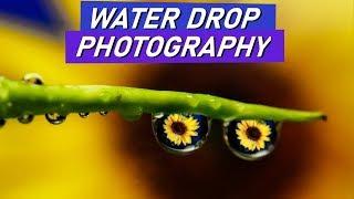WATER DROP Creative Photography at Home💧 (in Hindi)