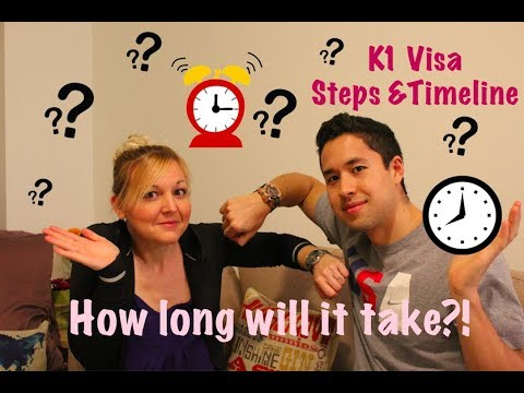 K1 Fiance Visa Timeline, Steps, Process, Notifications 2018 - How long does it take?