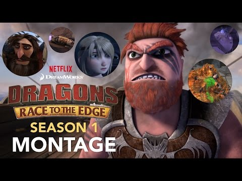 Dragons: Race To The Edge - Season 1 Montage