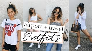 AIRPORT / TRAVEL OUTFITS   rachspeed