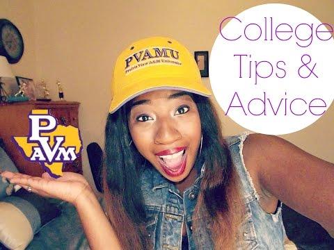 COLLEGE ADVICE   TIPS FOR INCOMING FRESHMEN w/Kimbo!!!