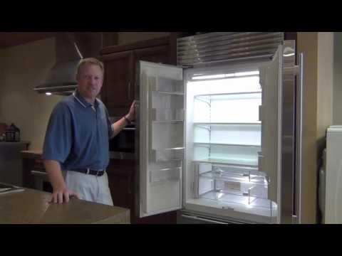 Sub-Zero French Door Refrigerator at BAC Appliance Showroom Denver