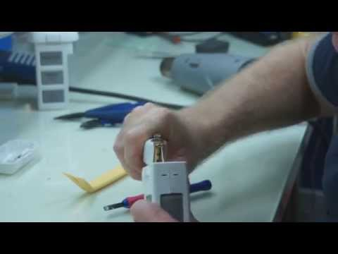 DJI Phantom Vision 2 / + Battery Disassembly, how to video