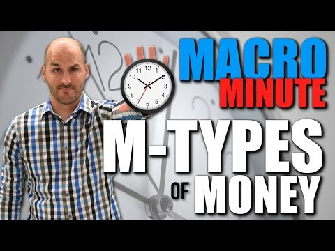 Macro Minute -- The M-Types of Money