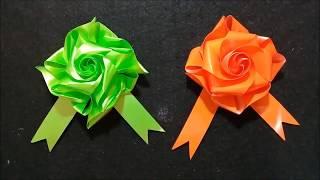 Diy Kanzashi Cara Membuat Hiasan Bunga Pita Satin