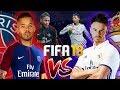 £1,000 FIFA 18 WAGER!!! BILLY VS JEZZA   REAL MADRID VS PSG   LG Super UHD Nano Cell TV