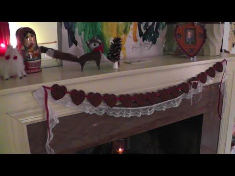 Cinnamon Dough Heart Garland | Kaity Katulka2