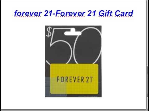Forever 21-Forever 21 Gift Card