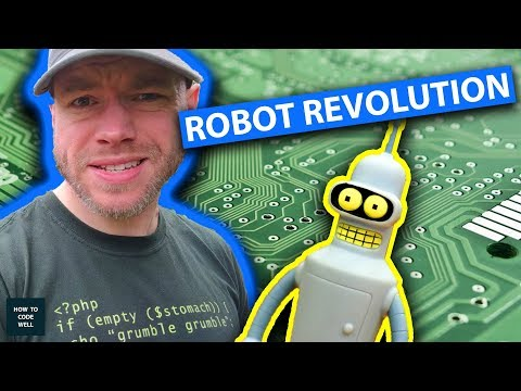 Robot Software Revolution | Thoughts from Porthcurno Cornwall 2018