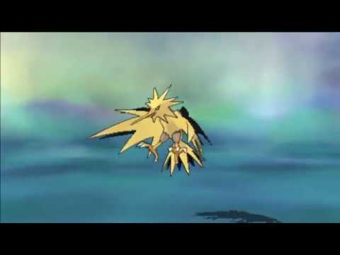 Pokemon Ultra Sun & Ultra Moon : Capturing Zapdos
