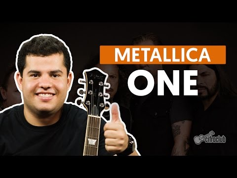 One - Metallica (aula de guitarra)