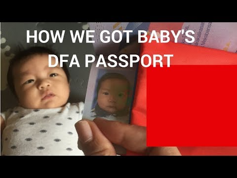 Vlog# 11 Baby DFA Passport | Taglish