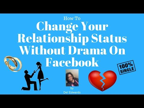 How To Change Your Relationship Status Without Drama On Facebook