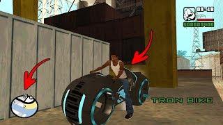 Secret Tron Bike Location In Gta San Andreas! (hidden Place)