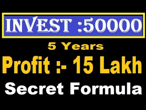 How to Make 15 Lakh in 5  Years By Low Investment In Stock Market    multibagger penny stock
