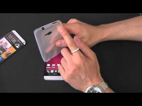HTC One Cimo Grip Back Case Flexible TPU Cover Review - by Gazelle.com