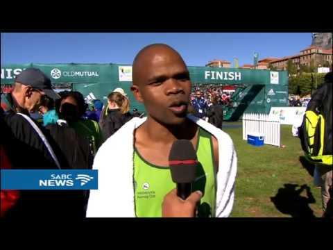 SA's Lungile Gongqa wins 2017 Two Oceans Marathon